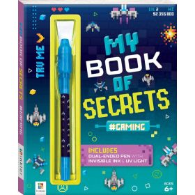 My Book of Secrets: #Gaming (Hardcover)