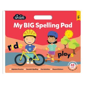 Junior Explorers: My Big Spelling Pad (Paperback)