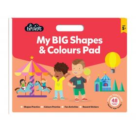 Junior Explorers: My Big Shapes and Colours Pad (Paperback)