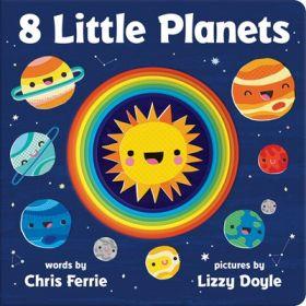 8 Little Planets (Board Book)
