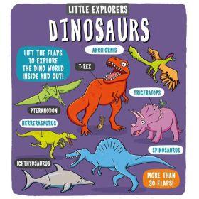 Little Explorers: Dinosaurs (Board Book)