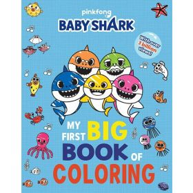 Pinkfong Baby Shark: My First Big Book of Coloring (Paperback)