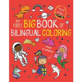 My First Big Book of Bilingual Coloring (Paperback)