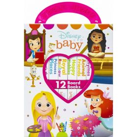 Disney Baby: Disney Princess Book Set (Board Book)