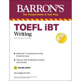 Barrons: TOEFL iBT Writing With Online Audio, 7th Edition (Paperback)