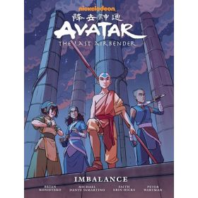 Avatar: The Last Airbender—Imbalance, Library Edition (Hardcover)