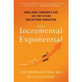 From Incremental to Exponential: How Large Companies Can See the Future and Rethink Innovation (Hardcover)