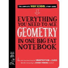 Everything You Need to Ace Geometry in One Big Fat Notebook (Paperback)