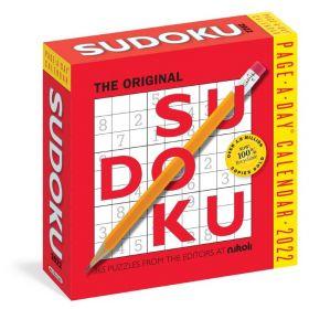 The Original Sudoku: Page-A-Day Calendar 2022