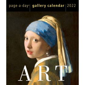 Art Page-A-Day Gallery Calendar 2022: A Year of Masterpieces on Your Desk