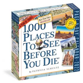 1,000 Places to See Before You Die: Page-A-Day Calendar 2022
