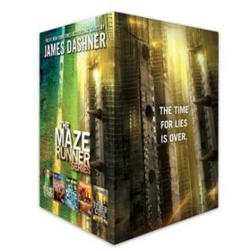 The Maze Runner Series Complete Collection Boxed Set: 5-Book (Hardcover)