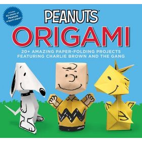 Peanuts Origami: 20+ Amazing Paper-Folding Projects Featuring Charlie Brown and the Gang (Paperback)