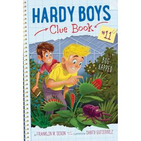 Bug-Napped: Hardy Boys Clue Book, Book 11 (Paperback)