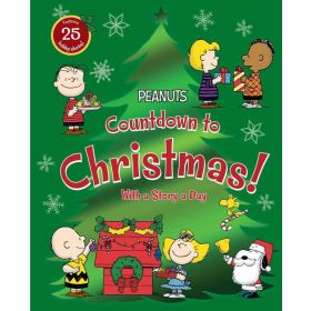 Countdown to Christmas!: With a Story a Day, Peanuts (Hardcover)
