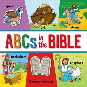 ABCs in the Bible (Board Book)