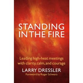 Standing in the Fire: Leading High-Heat Meetings with Clarity, Calm, and Courage (Paperback)