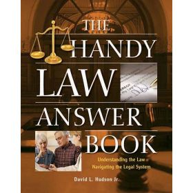 The Handy Law Answer Book (Paperback)