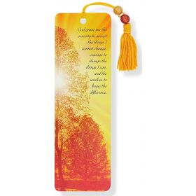 Peter Pauper: Beaded Bookmark (Serenity)