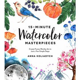 15-Minute Watercolor Masterpieces (Paperback)