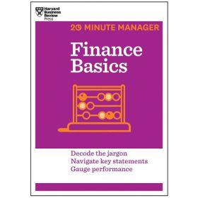 Finance Basics, 20-Minute Manager Series (Paperback)