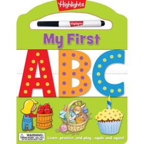 My First ABC: Learn, Practice, And Play Again And Again! (Board Book)