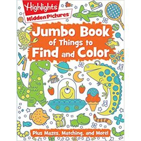Jumbo Book of Things to Find and Color (Paperback)