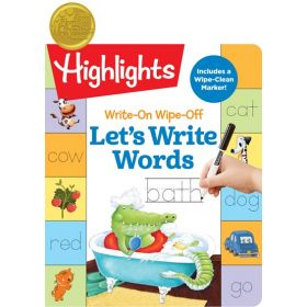 Highlights: Write-On Wipe-Off Let's Write Word (Spiral-Bound)