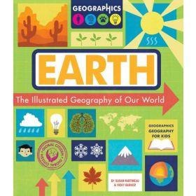 Earth: The Illustrated Geography of Our World (Paperback)