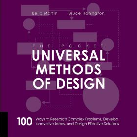 The Pocket Universal Methods of Design: 100 Ways to Research Complex Problems, Develop Innovative Ideas, and Design Effective Solutions (Paperback)