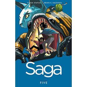 Saga, Vol. 5 (Paperback)