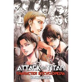 Attack on Titan Character Encyclopedia (Paperback)