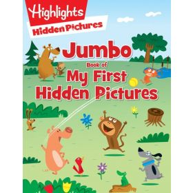 Jumbo Book of My First Hidden Pictures (Paperback)