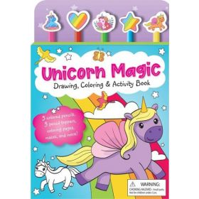 Unicorn Magic Pencil Toppers: Drawing, Coloring & Activity Book (Mixed Media Product)