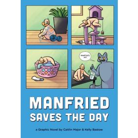 Manfried Saves the Day: A Graphic Novel (Paperback)