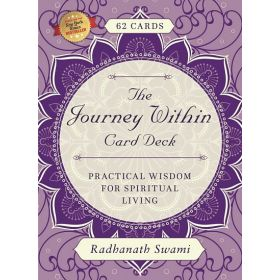 The Journey Within Card Deck: Practical Wisdom for Spiritual Living (Paperback)