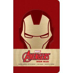Marvel: Iron Man Ruled Journal (Hardcover)