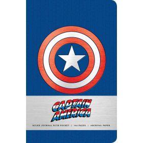 Marvel: Captain America Ruled Journal (Hardcover)