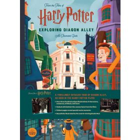Harry Potter: Exploring Diagon Alley, An Illustrated Guide (Hardcover)