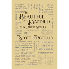 The Beautiful and Damned and Other Stories, Word Cloud Classics (Flexibound)