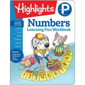 Preschool Numbers, Highlights Learning Fun Workbooks (Paperback)