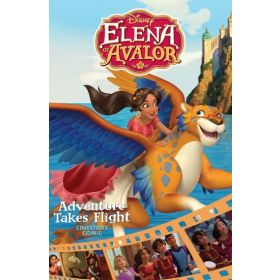 Disney Elena of Avalor: Adventure Takes Flight Cinestory Comic (Paperback)