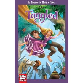 Disney Tangled: The Story of the Movie in Comics  (Paperback)