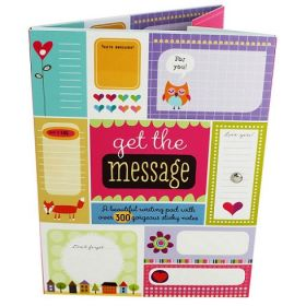 Get the Message Writing Pad (Paperback)