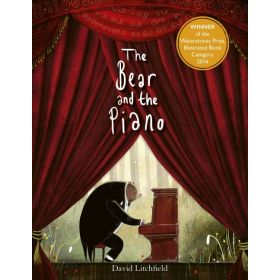 The Bear And The Piano (Board Book)