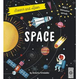 Scratch and Learn: Space (Hardcover)