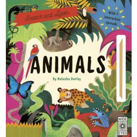 Scratch and Learn: Animals (Hardcover)
