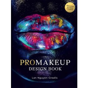 PROMakeup Design Book: Includes 50 Face Charts (Paperback)