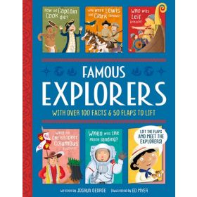 Famous Explorers: Lift-The-Flap History (Hardcover)