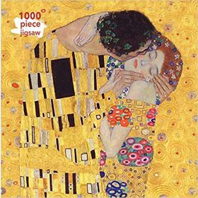 Gustav Klimt, The Kiss: 1000-Piece (Jigsaw Puzzle)